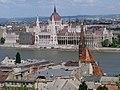 Budapest Bastion Pecheurs Vue Parlement - panoramio.jpg