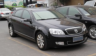 Holden Caprice (WM) - Buick Park Avenue in Shanghai