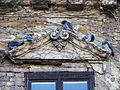 Building Facade with Pigeons - Buda Side - Budapest - Hungary.jpg