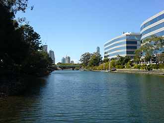 Nerang River - Canal at Bundall