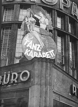 Weimar culture - The Europahaus, one of hundreds of cabarets in Weimar Berlin, 1931