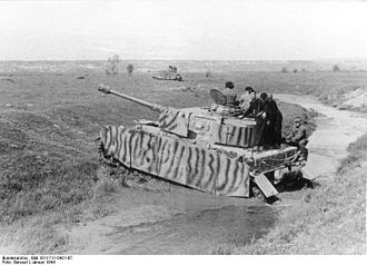 Uman–Botoșani Offensive - Panzer IVs in Ukraine, January 1944