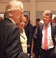 Bundeskanzlerin Angela Merkel, Jörg Wuttke und Uwe Kräuter - Peking 2014.jpg