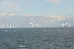 Burbo Bank Offshore Windfarm, Irish Sea off the Wirral.jpg