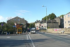 Burnley Road A646, Luddenden Foot - geograph.org.uk - 1009230.jpg