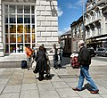 Buskers on Lord Street - geograph.org.uk - 1396122.jpg