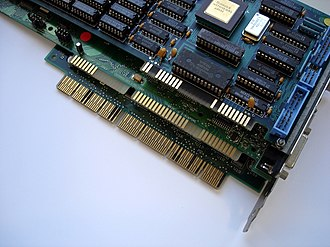 Industry Standard Architecture - Image: Bussysteme Extended ISA 32Bit, ISA 16Bit, XT 8Bit