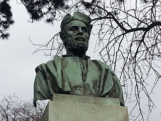 Bust of Jacques Cartier