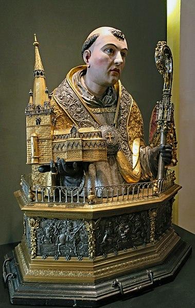 File:Buste reliquaire St Poppon.jpg