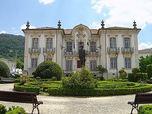 Lousã - The Baroque-style municipal hall