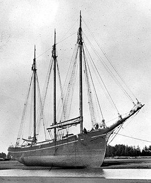 C.A. Thayer (1895) - C.A. Thayer, launched November 12, 1895