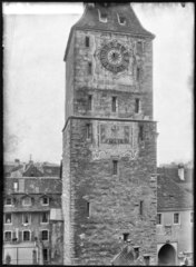 CH-NB - Aarau, Turm, Fassade, vue partielle - Collection Max van Berchem - EAD-7058.tif