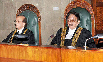 Iftikhar Muhammad Chaudhry - Chaudhry in full court on his last day
