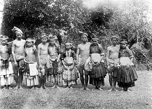 Sigi Regency - Marego dancers in Kulawi