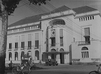 Deli Railway Company - Head office of the Deli Railway Company in Medan, Sumatra