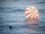CRS-1 Dragon After Splashdown.jpg