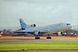 EuroAtlantic Airways - The former euroAtlantic Lockheed L-1011 still wearing Air Zarco livery