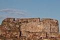 Caballero situado sobre el baluarte de la Coraza Alta, Ceuta.jpg