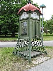 bibliothèque cabine téléphonique anglaise