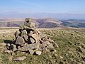 Cairn on the summit of Lord's Seat - geograph.org.uk - 1307376.jpg