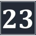 Calendar Icon 23 BW.png