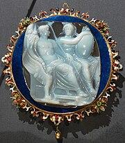 Caligula und Roma Kameo KHM IXa 59