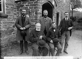 Calvinistic Methodist deacons, Llangernyw (1895)