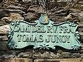 Camí del Reverend Fra Tomas Junoy street sign.JPG