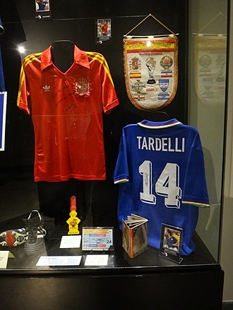 Marco Tardelli - Tardelli's No.14 Italy shirt