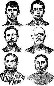 Camorristis en Nápoles, en 1906