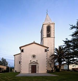Campllong - Sant Quirze church, Campllong