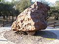 Campo del Cielo meteorite, El Chaco fragment, S.jpg