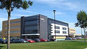 Université du Québec à Rimouski - A building of the Levis campus, erected in 2007