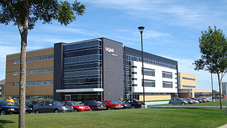 Université du Québec à Rimouski - A building of the Levis campus, erected in 2007
