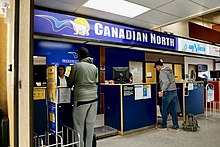 Canadian North check-in counter in Inuvik (Quintin Soloviev).jpg