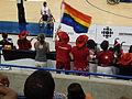 Canadian fans at the 2014 Women's World Wheelchair Basketball Championship.jpg