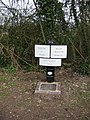 Canal Milepost on Montgomery Canal - geograph.org.uk - 153660.jpg
