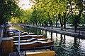 Canal du Vassé vu depuis le Pont de Amours à Annecy.jpg