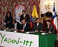 Canciller Patiño de Ecuador y el Canciller Moreno de Chile oficializan en evento aporte chileno a la Iniciativa Yasuní-ITT (4994576980).jpg