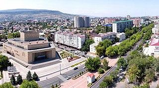 Makhachkala City in Dagestan, Russia