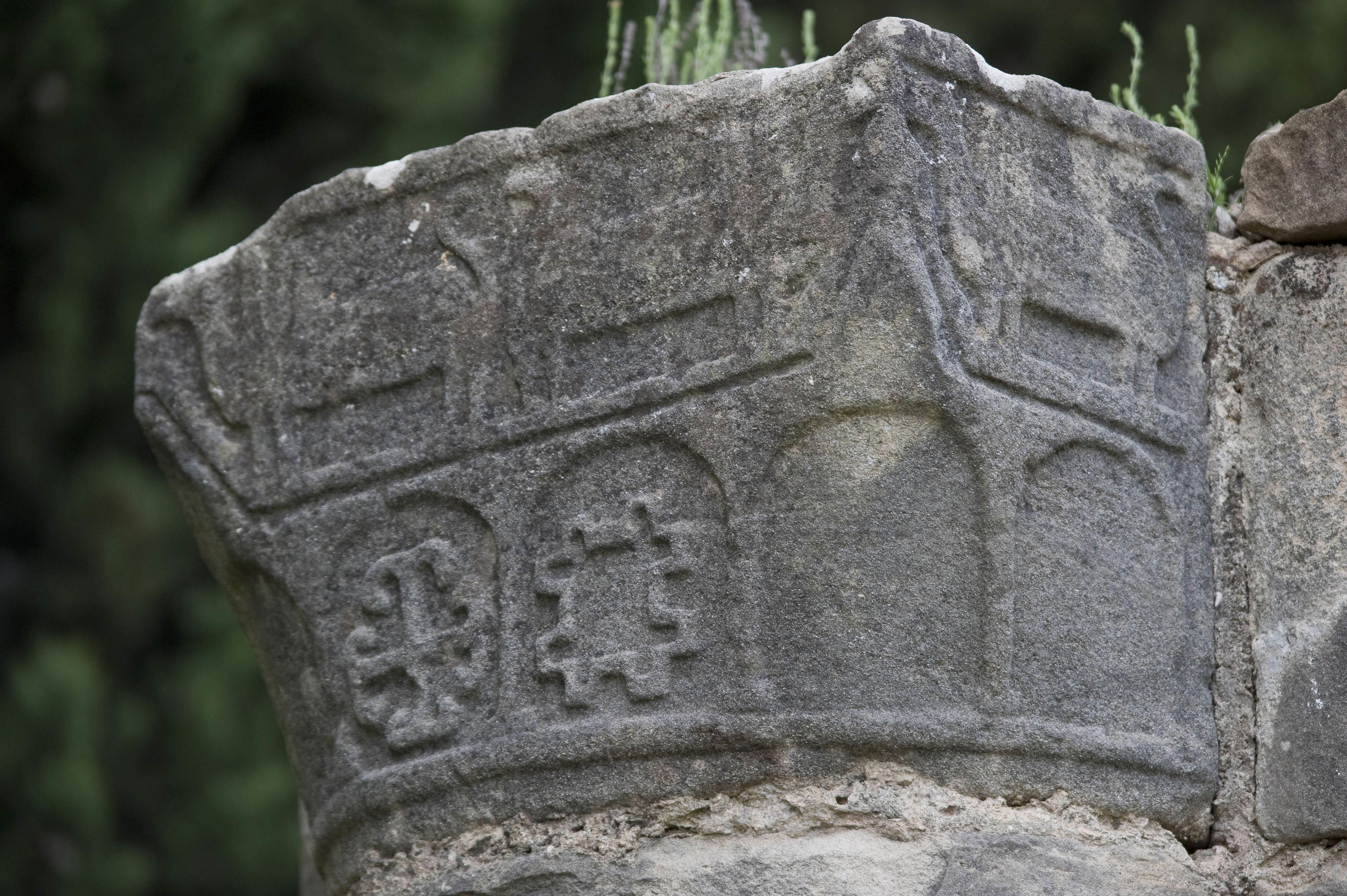 Capitello del battistero della pieve di Sant'Appiano, Barberino Val d'Elsa