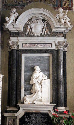 Francesco Adriano Ceva - Monument in the Lateran Baptistry