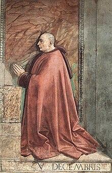 Francesco Sassetti, committente ritratto dal Ghirlandaio