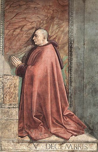 Sassetti Chapel - Donor portrait of Francesco Sassetti