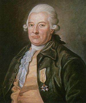 Carl Fredrik Pechlin - 1774 painting by Per Krafft the Elder