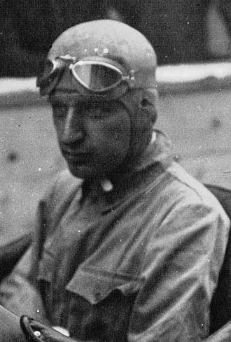 Carlo Felice Trossi - Trossi at the 1934 Grand Prix automobile de Montreux