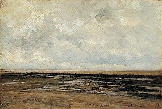 Carlos de Haes - Image: Carlos de Haes Villerville Beach. Normandy Google Art Project