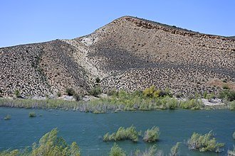 Carmel Formation - Carmel Formation exposed at Gunlock Reservoir, southwestern Utah