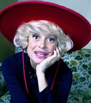 colour portrait Carol Channing