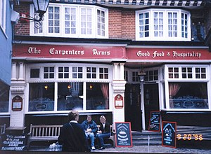 Carpenters Arms - One of many Carpenters Arms pubs located in the United Kingdom. This one in London.